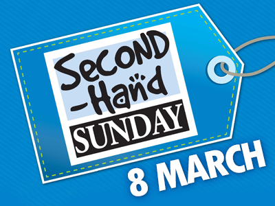 second hand sunday promo 8march2020
